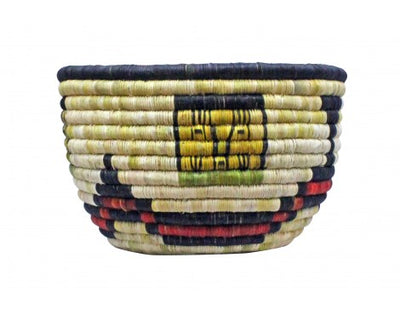 Load image into Gallery viewer, Gladys Kagenveama, Hopi Coil, Corn Maiden w/Corn, 6.5 in x 10.25 in