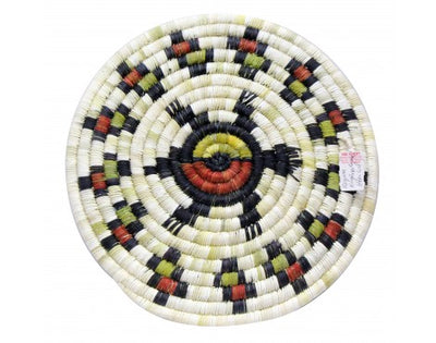 Load image into Gallery viewer, Roselita Martin, Hopi Coil Plaque, Turtle, 12 in x 12 in