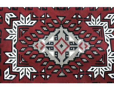Load image into Gallery viewer, Lolita Williams, Ganado Red Rug, Navajo Handwoven, 78 in x 52 in