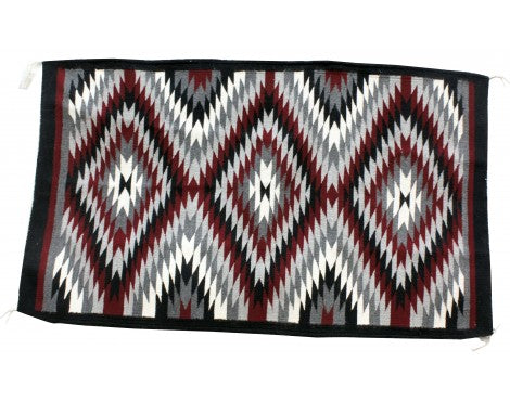 Norma James, Ganado Red Rug, Navajo Handwoven, 39 in x 59 in