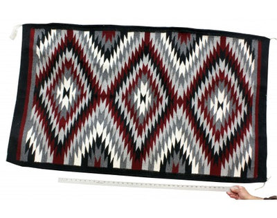 Load image into Gallery viewer, Norma James, Ganado Red Rug, Navajo Handwoven, 39 in x 59 in