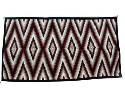 Load image into Gallery viewer, Jean Tsosie, Eye Dazzler Rug, Large, Navajo Handwoven, 86 in x 47 in