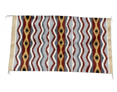 Load image into Gallery viewer, Martha Etcitty, Chinle Rug, Navajo Handwoven, 30 in x 53.5 in