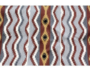 Martha Etcitty, Chinle Rug, Navajo Handwoven, 30 in x 53.5 in