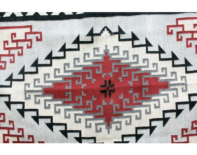 Load image into Gallery viewer, Alfrieda James, Ganado Red Rug, Navajo Handwoven, 45 in x 70 in