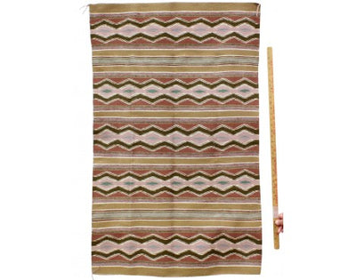 "Load image into Gallery viewer, Erma Francis, Wide Ruins Rug, Navajo Handwoven, 34 1/2"" x 49"""