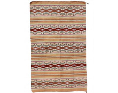 "Load image into Gallery viewer, Anna Clyde, Wide Ruins Rug, Navajo Handwoven, 31"" x 47"""