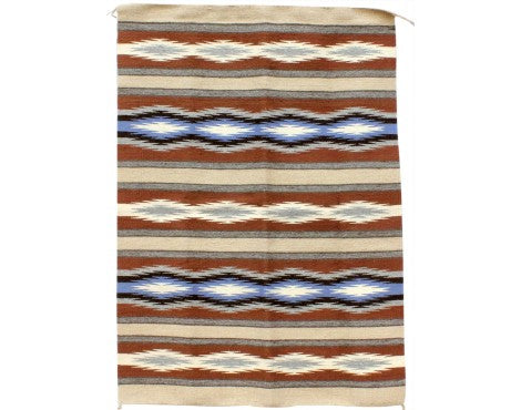 Anna Clyde, Wide Ruins Rug, Navajo Handwoven, 31
