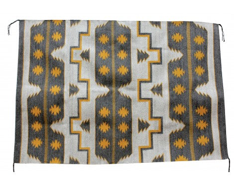 Donald Yazzie, Cheif Pattern, Navajo Rug, Handwoven, 71 in x 49 in