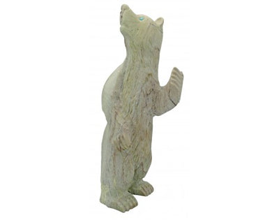 Load image into Gallery viewer, Albert Eustace, Zuni Fetish, Bear, Marble, Handmade, 3.25