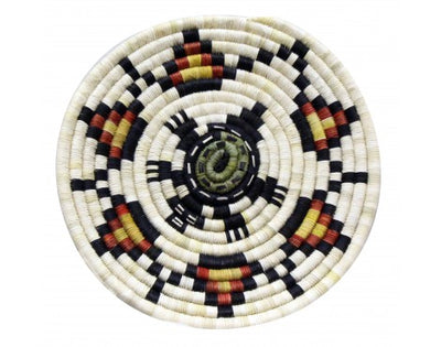 Load image into Gallery viewer, Rhetta Lou Adams, Hopi Coil Plaque, Maiden, 13 in