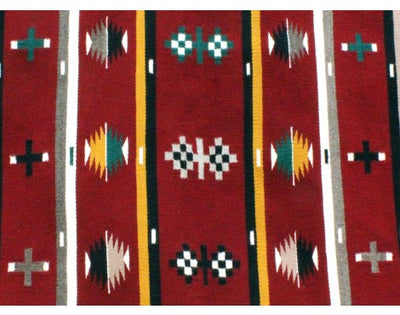 Load image into Gallery viewer, Bessie Yazzie, Cheif Rug, Navajo Handwoven, 27 in x 68 in