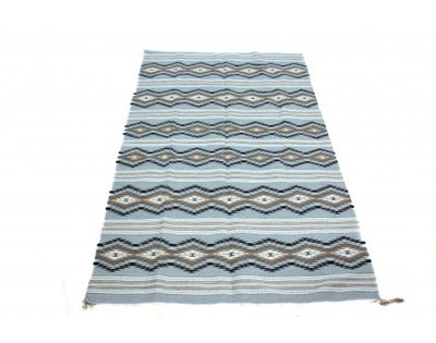 "Load image into Gallery viewer, Donald Woods, Chinle Rug, Navajo Wool, Contemporary, 92"" x 59"""