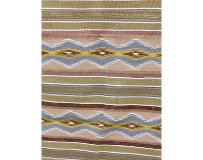 "Load image into Gallery viewer, Elsie Francis, Wide Ruins Rug, Navajo Handwoven, 34""x52"""