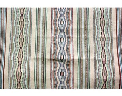 Load image into Gallery viewer, Marie Begay, Wide Ruins, Navajo Handwoven Rug, 50.5 in x 41 in
