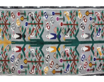 Load image into Gallery viewer, Leita Bedonie,  Tree of Life Rug, Navajo Handwoven, 46'' x 70''