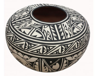 Load image into Gallery viewer, Joseph Latoma, San Felepe Pueblo Pottery, Handmade, 19 in x 14 in