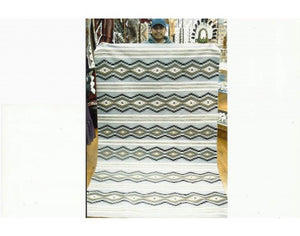 "Donald Woods, Chinle Rug, Navajo Wool, Contemporary, 92"" x 59"""