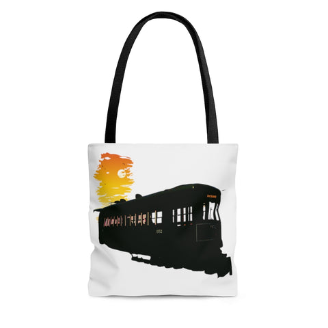 Desire Streetcar Shoulder Tote Bag