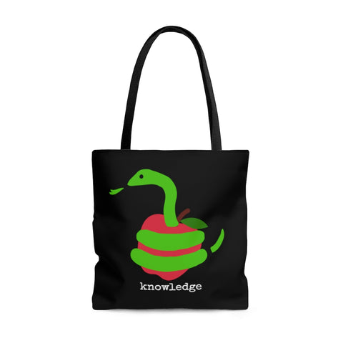 Knowledge Shoulder Tote Bag - Roomy