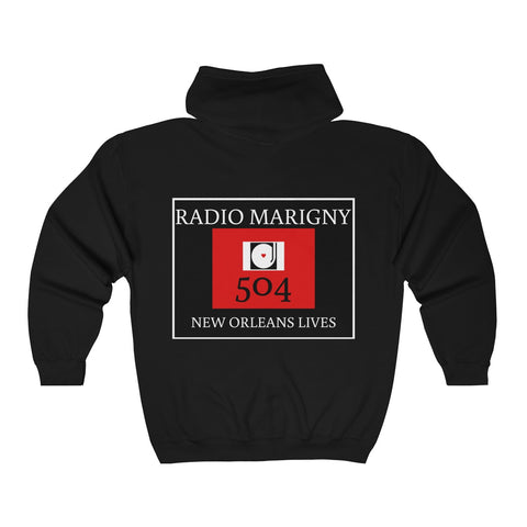 Radio Marigny Hooded Sweatshirt