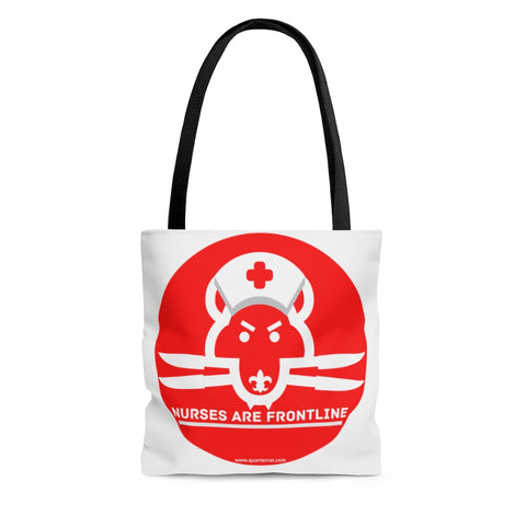 Nurses Are Frontline Shoulder Tote Bag