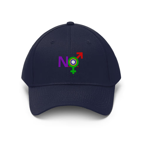 New Orleans LBGTX Embroidered Pride Hat
