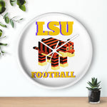 Leggo LSU Football Wall clock