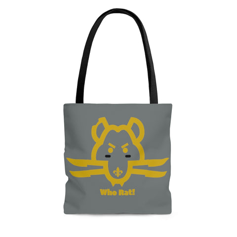 Who Rat New Orleans Saints Shoulder Tote Bag