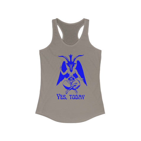 Yes, Today Women's Ideal Racerback Tank