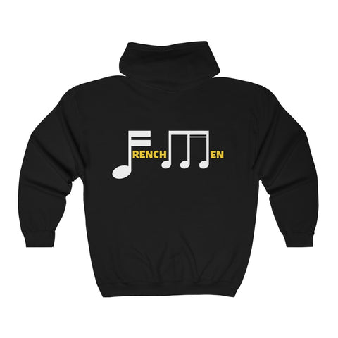 Frenchmen Street Unisex  Full Zip Hooded Sweatshirt