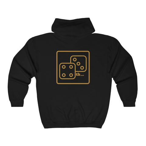 7th Ward Lucky Dice Zip-Up Hooded Sweatshirt