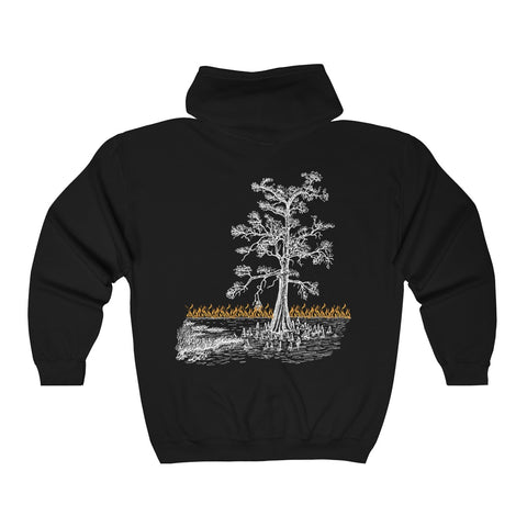 Fiyo on the Bayou Zip-Up Hooded Sweatshirt