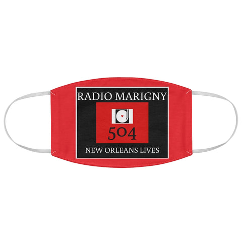 Radio Marigny Fabric Face Mask