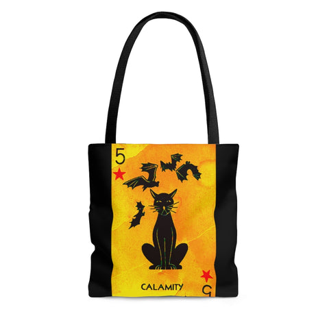 Cats And Bats AOP Tote Bag