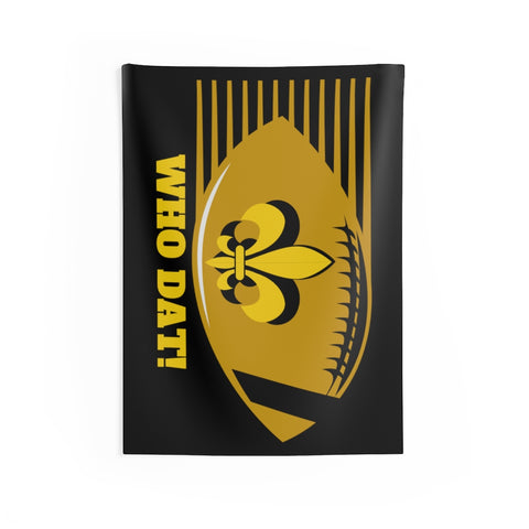 Saints Football Indoor Wall Tapestry