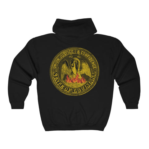 Pelican Phoenix Unisex Heavy Blend™ Full Zip Hooded Sweatshirt