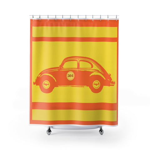504 Love Bug Shower Curtains