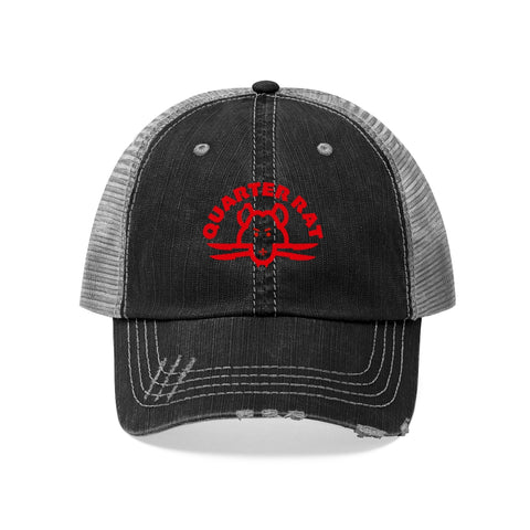 Quarter Rat  Trucker Hat