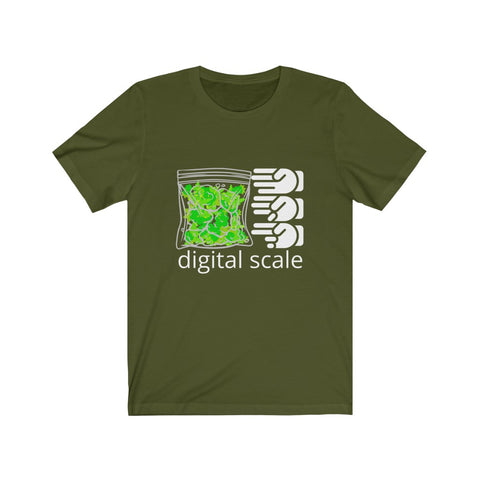 Digital Scale Unisex Jersey Short Sleeve Tee