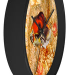 Cave Painting Bison Wall clock