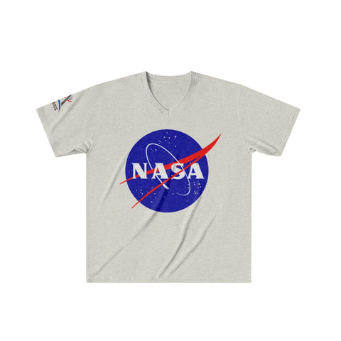 NASA Artemis Program Men's Tri-Blend V-Neck T-Shirt
