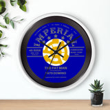 Fats Domino 45 Wall clock