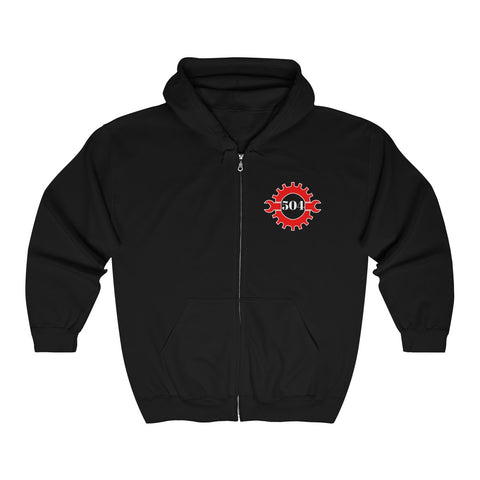 Bicycle Community Zip-Up Hooded Sweatshirt