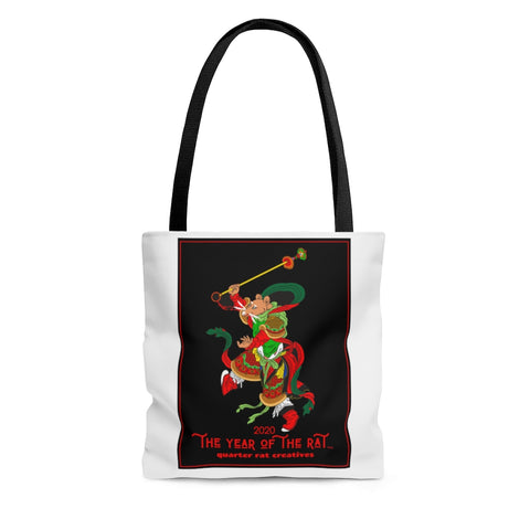 Year Of The Rat Commemorative Tote Bag - Vintage