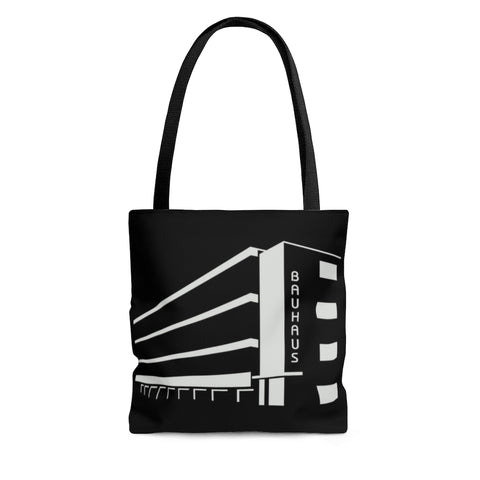 Bauhaus Building Shoulder Tote Bag