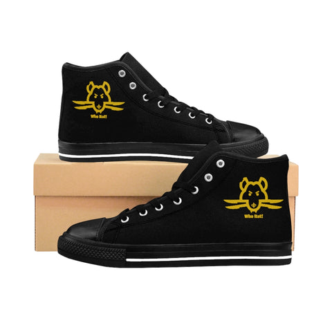 Who Rat Men's High-top Sneakers