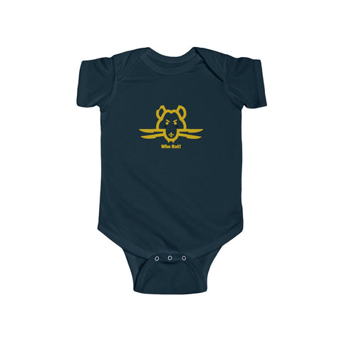 Who Rat New Orleans Saints Infant Fine Jersey Bodysuit