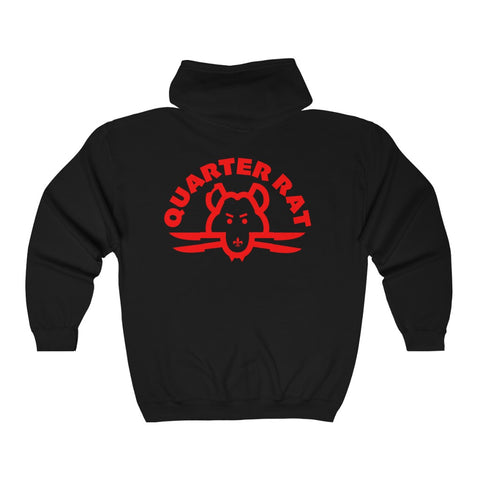 Quarter Rat  Hooded Sweatshirt