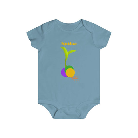 Native Beadling Infant Rip Snap Tee